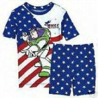 Disney Buzz Lightyear Americana SHORT PJ Pals Size 2