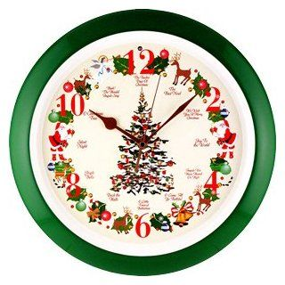 Christmas Tree Musical Sound Wall Clock, Animated Santa also available!