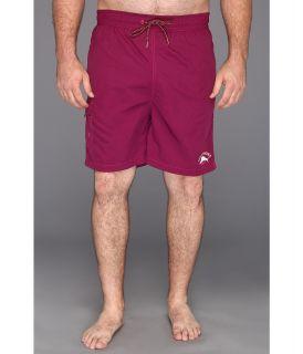 Tommy Bahama Big & Tall Big Tall Happy Go Cargo Swim Trunks Mens Swimwear (Purple)
