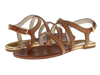 MICHAEL Michael Kors Arianna Toe Thong Womens Shoes (Brown)