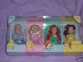 "FAIRY TALE Beginnings/DISNEY PRINCESS Doll Set/KELLY Sized/Little CINDERELLA/Sleeping Beauty/ARIEL & BELLE About 5""/TODDLER/BARBIE'S Sister Toys & Games"