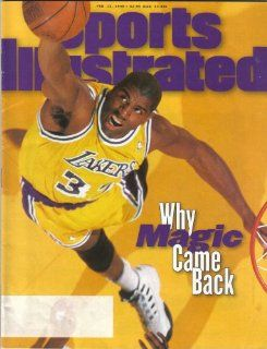 Sports Illustrated Magazine February 12 1996 Why Magic Came Back Sports Illustrated Books