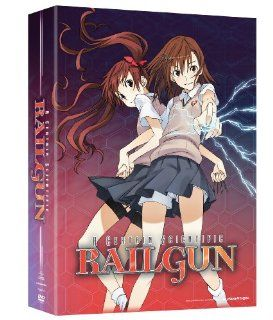 A Certain Scientific Railgun: Season 1, Part 1 (Limited Edition): Alison Viktorin, Brittney Karbowski, Cherami Leigh, Rina Satou, Satomi Arai, Aki Toyosaki, Tatsuyuki Nagai: Movies & TV