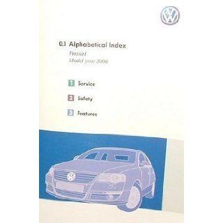 2008 Volkswagen Passat Owner Manual Binder VW Automotive Books
