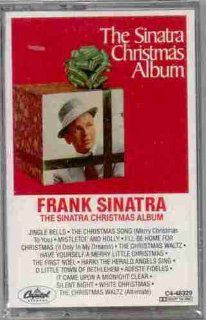 Frank Sinatra ~ The Sinatra Christmas Album (Original Capitol Records 48329 CASSETTE Tape Containing 14 Tracks Featuring Orchestra Conducted by Gordon Jenkins) Music