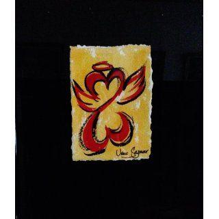 Art: Radiant Open Heart Angel I. : Watercolor : Jane Seymour