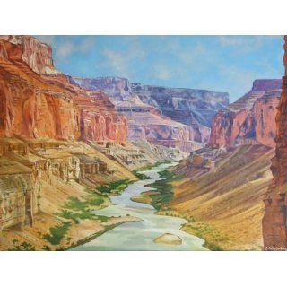 Art Grand Canyon Landscape  Oil  Vladimir Arandjelovic