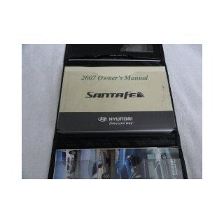 2007 Hyundai Santa Fe Owners Manual Hyundai Books