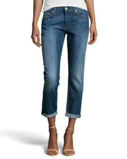 0ceb6434d3 ... Josefina Boyfriend Jeans, Rich Authentic Indigo ...