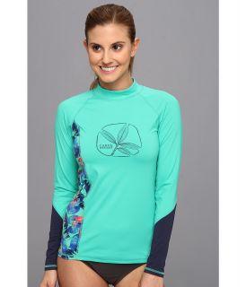 Carve Designs Sunblocker Rash Guard Womens Swimwear (Blue)