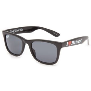 Haters Sunglasses Black Gloss One Size For Men 212253180