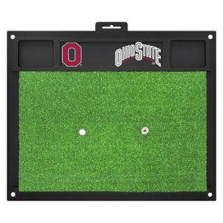 Fanmats NCAA Ohio State Buckeyes Golf Hitting Mats   Green/Black (20 L x 17 W
