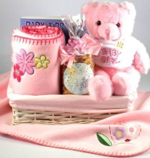 Welcome To The World Baby Girl Gift Basket  Gourmet Candy Gifts  Grocery & Gourmet Food