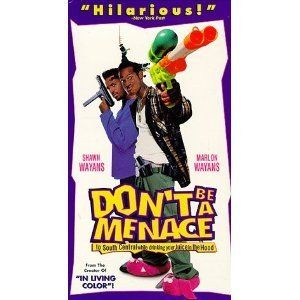 Don't Be a Menace to South Central While Drinking Your Juice in the Hood [VHS]: Shawn Wayans, Marlon Wayans, Keenen Ivory Wayans, Tracey Cherelle Jones, Chris Spencer, Suli McCullough, Darrel Heath, Helen Martin, Isaiah Barnes, Lahmard J. Tate, Keith M