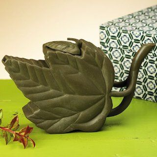 Smithsonian Yixing Green Leaf Teapot