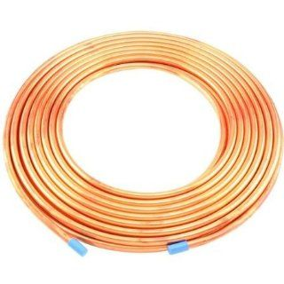 "Copper Pipe Coil   1/4"" x 50'   Refrigeration Tubing   HVAC etc: Home Improvement"