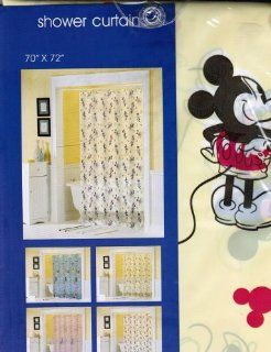 Mickey & Minnie Mouse Shower Curtain
