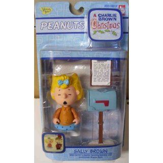 Sally Brown Charlie Brown Christmas Action Figure from Peanuts: Toys & Games