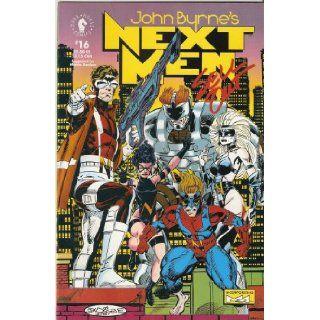 John Byrne's Next Men #16 July 1993 John Byrne Books
