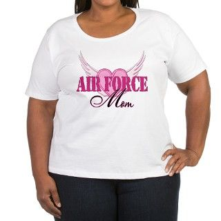 Air Force Mom Wings T Shirt by hooahstyle