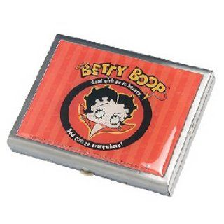 Betty Boop Good Girls Go To Heaven, Bad Girls Go Everywhere! Card Case: Clothing