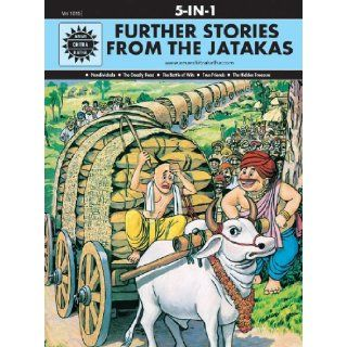 Further Stories From the Jatakas (Amar Chitra Katha 5 in 1 Series): Anant Pai: 9788189999513: Books