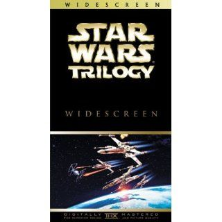 Star Wars Trilogy (Widescreen Edition) [VHS]: Mark Hamill, Harrison Ford, Carrie Fisher, Alec Guinness, Peter Cushing, Anthony Daniels, Kenny Baker, Peter Mayhew, David Prowse, Phil Brown, Shelagh Fraser, Jack Purvis, George Lucas, Irvin Kershner, Richard