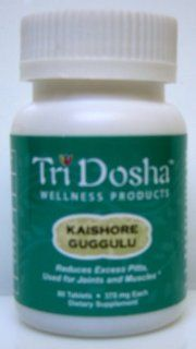 Kaishore Guggulu   Natural Anti Inflammatory and Joint Repair, Relieve Joint Pain, Muscle Soreness, Tendonitis, Hot Swollen Joint, Inflammation Joint, Low back Pain and Sciatica, Fibromyalgia and Pitta Arthritis.* 80 Tablets: Health & Personal Care