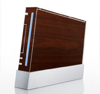 Maple Wood Grain Skin for Nintendo Wii Console Video Games