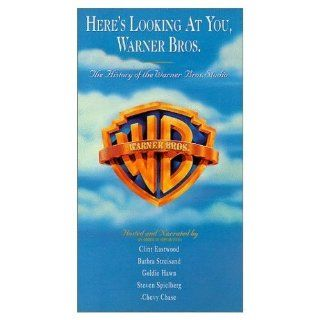Here's Looking at You, Warner Bros. [VHS] Humphrey Bogart, Marlon Brando, James Cagney, Chevy Chase, Bette Davis, Clint Eastwood, Clark Gable, Goldie Hawn, Audrey Hepburn, Ruby Keeler, George Lucas, Paul Newman, Philip Hurn, Robert Guenette, Bryan McK