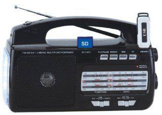 Supersonic 4 Band AM/FM/SW1 2 Portable Radio Electronics