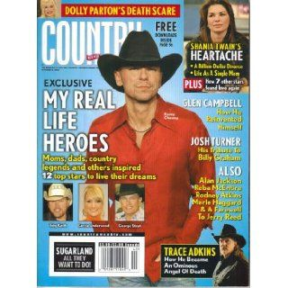 Dolly Parton's Death Scare / Kenny Chesney: My Real Life Heroes / Shania Twain's Heartache / Glen Campbell: How He Reinvented Himself / Josh Turner: His Tribute to Billy Graham (Country Weekly, Volume 15, Number 20, October 6, 2008): Larry Holden: