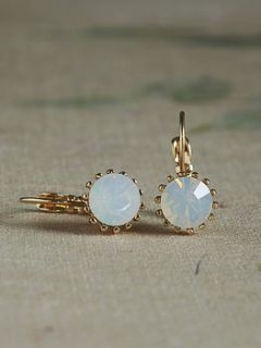 mati opal crystal earrings by anusha