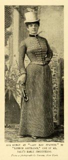 1899 Print American Stage Actress Ada Rehan Lady Gay Spanker London Assurance   Original Halftone Print
