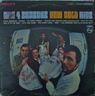The 4 Seasons New Gold Hits Original Philips Records Stereo release PHS 600 243 1960's Pop Rock Vinyl (1967) Music