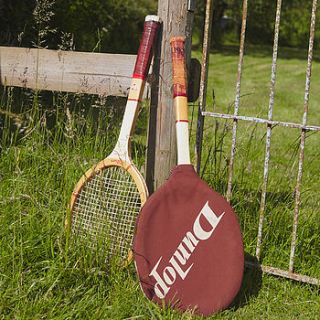 vintage tennis racket by the original home store