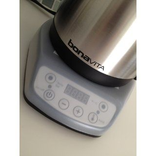 Bonavita 1 Liter Variable Temperature Digital Electric Gooseneck Kettle: Kitchen & Dining