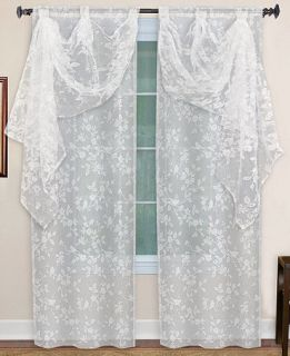 Elrene Berkshire Window Treatment Collection   Sheer Curtains   For The Home