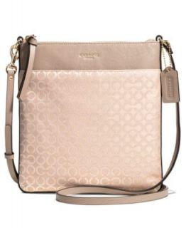 COACH MADISON SWINGPACK IN NEEDLEPOINT OP ART FABRIC   COACH   Handbags & Accessories