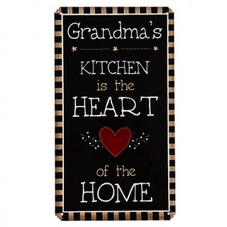 Personal Creations Country Kitchen Metal Sign   Heart of the Home