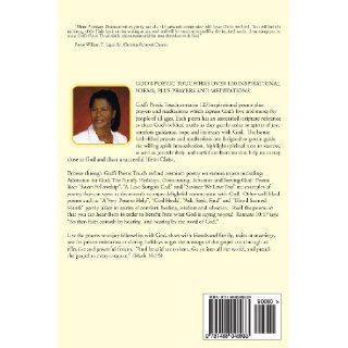 God's Poetic Touch A Book of Christian Poems, Prayers and Meditations (Volume 1) Diane Patterson Onuntuei 9781468048933 Books