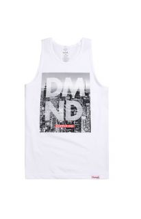 Mens Diamond Supply Co Tank Tops   Diamond Supply Co City Life Fill Tank Top