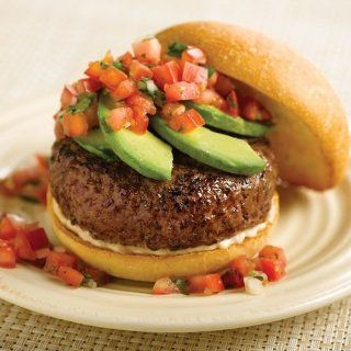 Omaha Steaks 24 (4 oz.) Omaha Steaks Burgers : Beef Burger Patties : Grocery & Gourmet Food