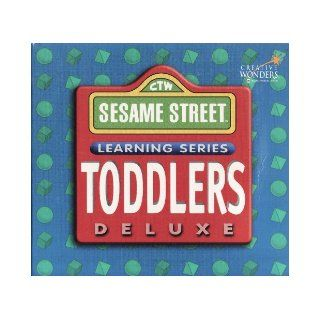 CTW Sesame Street Learning Series Toddlers Deluxe 3 CD Set Creative Wonders Books