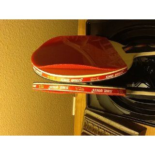 DHS Ping Pong Paddle A4006, Table Tennis Racket   Penhold : Professional Table Tennis Rackets : Sports & Outdoors