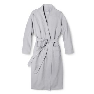 Gilligan & OMalley Womens Waffle Robe   Mesa Gray L/XL