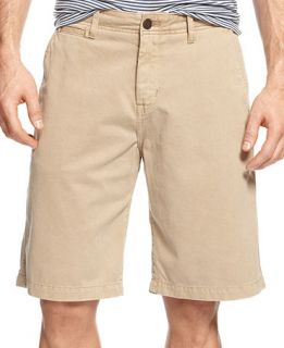 Lucky Brand Jeans Flat Front Chino Shorts   Shorts   Men