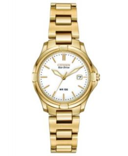 Seiko Watch, Womens Gold Tone Stainless Steel Bracelet 28mm SUT018   Watches   Jewelry & Watches