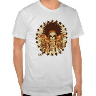 Skull Headdress 2 T shirt