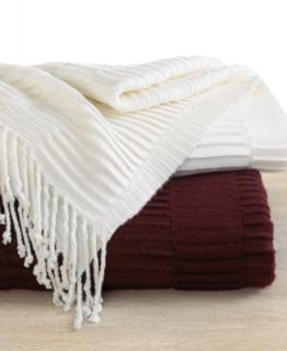 Hotel Collection Bedding, Quill Throw   Blankets & Throws   Bed & Bath
